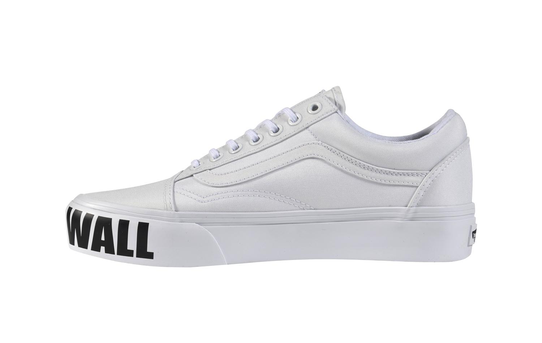 Eredeti platformos Vans női cipő eladó