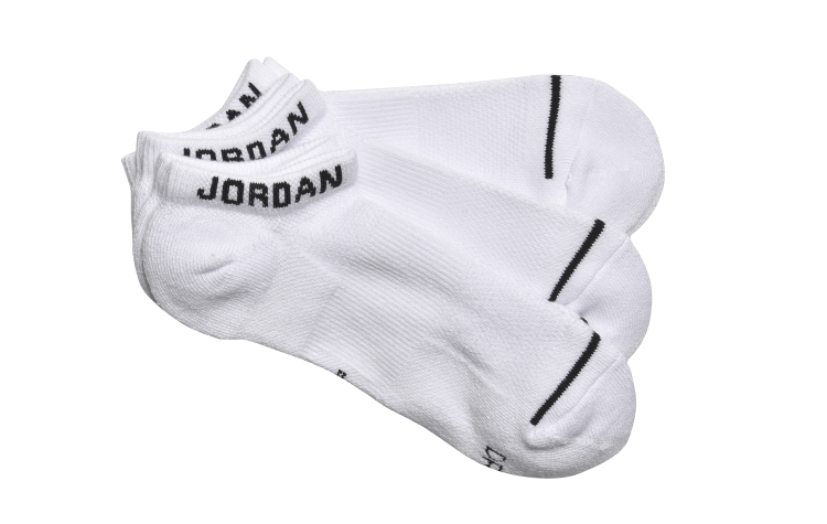 JORDAN Jumpman No-show Sox 3*pack (SX5546-100)