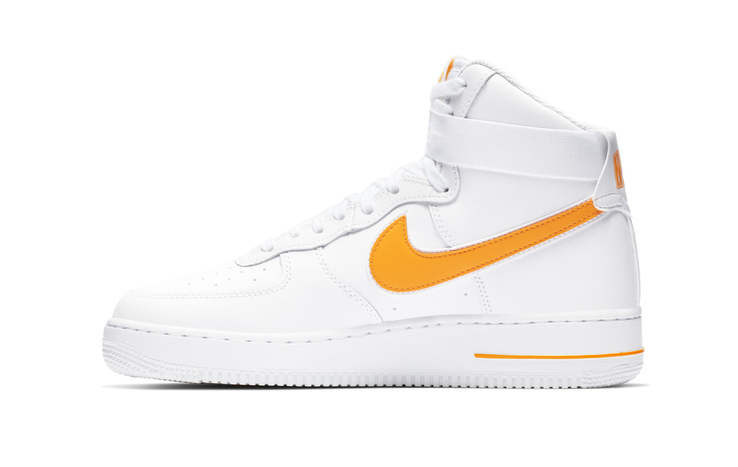 Nike Air Force 1 High 07 3, WhiteUniversity Gold férfi cipő