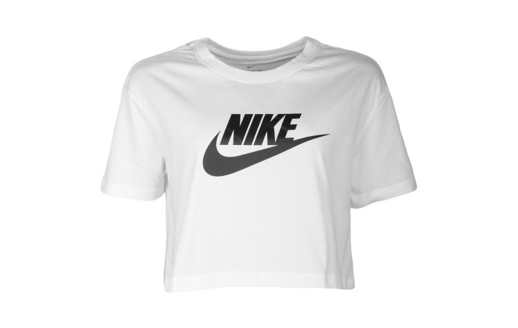 NIKE Wmns Sw Essential Cropped S/S (BV6175-100)
