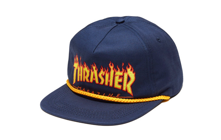 THRASHER Flame Rope Snap (565921-NVY)