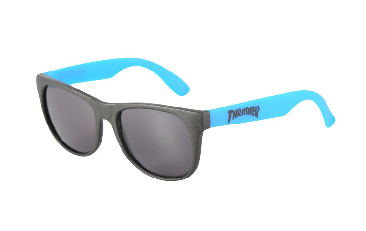 THRASHER Logo Sunglasses (590065-BLU)