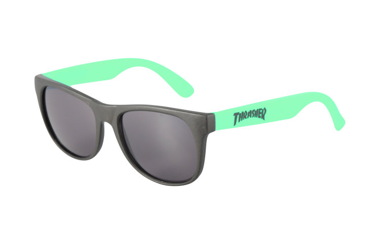 THRASHER Logo Sunglasses (590065-GRN)