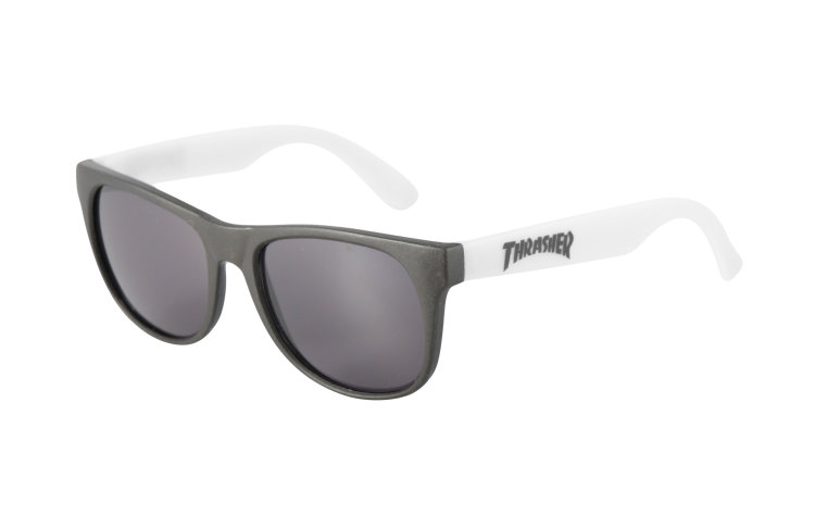THRASHER Logo Sunglasses (590065-WHT)