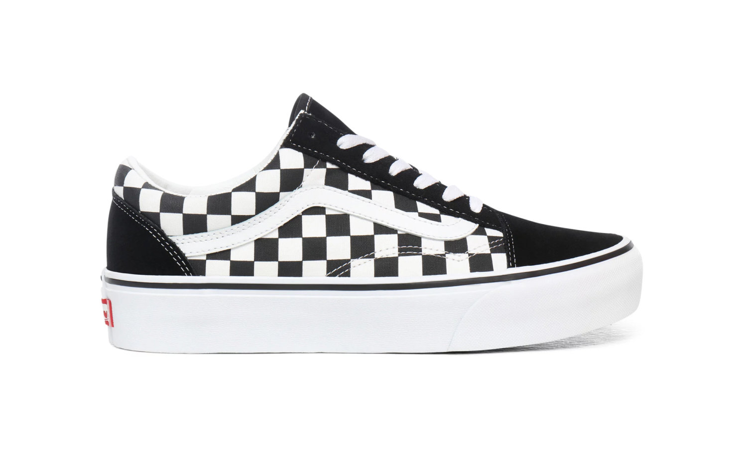 Wmns Old Skool Platform Checkerboard
