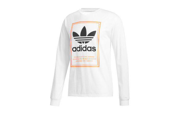 ADIDAS Tongue Label L/S (FM1568)