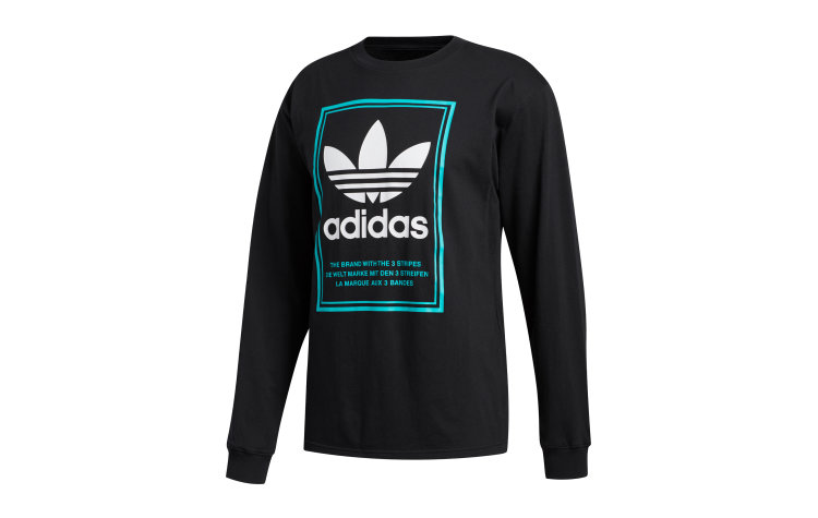 ADIDAS Tongue Label L/S (FM1570)