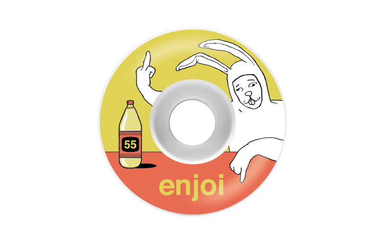 ENJOI Tourettes Wheels 55mm (10117129-YEL)