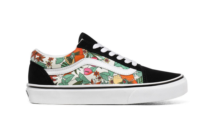 VANS Wmns Old Skool (multi Tropic) (VN0A4U3BXF3)