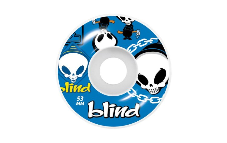 BLIND Random Wheels 53 (10111174-BLU)