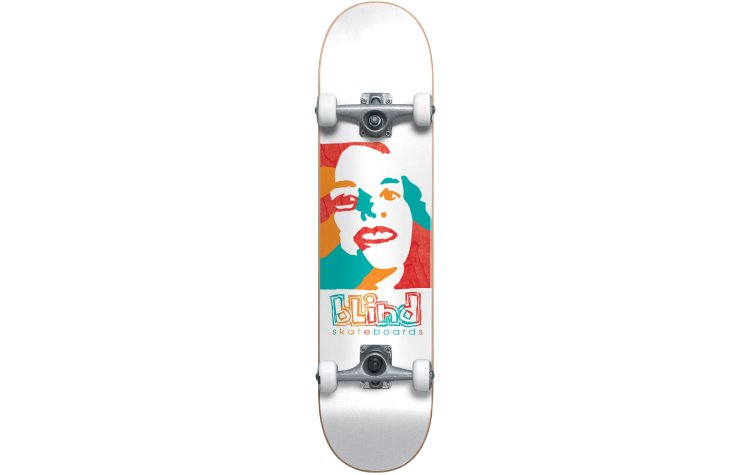 BLIND Bld Psychedelic Girl FP Premium Complete 7.75 (10511889-WHI)