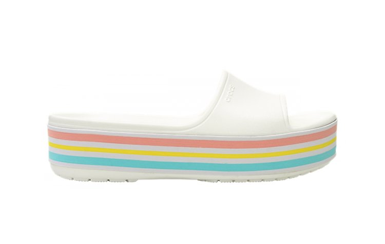 CROCS CB Platform Bld Color Slide (205693-100)