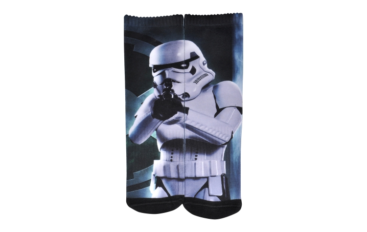 STAR WARS Youth Print Crew Stormtrooper Sox (Y0028A)