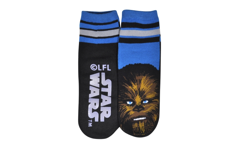 STAR WARS Youth Slipper Chewbacca Sox (Y0035A)