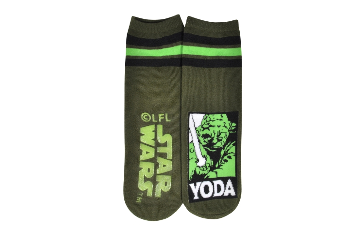 STAR WARS Youth Slipper Yoda Sox (Y0034A)